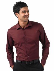 Koszula z dlugimi rekawami dopasowana R-946M-0