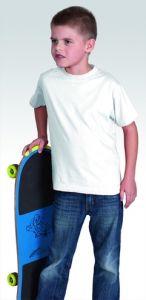 PROMOSTARS koszulka standard kid 150G biały