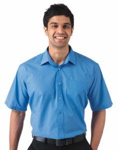 Koszula z krótkimi rękawami z kieszonką R-935M-0