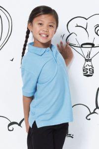 Polo SG dziecięce białe 215g