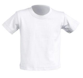 JHK koszulka baby 150G biała