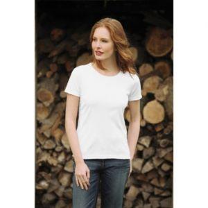 Koszulka damska KEYA  biała 205g