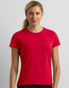 Koszulka sportowa  Gildan DAMSKA biała
